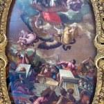 VENICE, ITALY - MARCH 12, 2014: Ceiling of Cappella della SS. Vergine del Rosario from 17. cent. in Basilica di san Giovanni e Paolo church. — Stock Photo #48956193