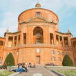 BOLOGNA, ITALY - MARCH 15, 2014: Church Chiesa della Madonna di San Luca over the town. — Stock Photo #48958487