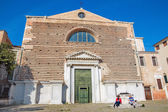 Venice - San Marcuola church — Stock Photo