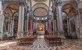 VENICE, ITALY - MARCH 12, 2014: Church chiesa di Santa Maria del Giglio. — Stock Photo