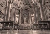 Venice, włochy - 12 marca 2014: cappella di san domenico w basilica di san giovanni e paolo kościoła. — Zdjęcie stockowe