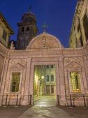 Venice - Scuola Grande di San Giovanni in morning dusk — Stock Photo