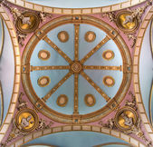 BRUGGE, BELGIUM - JUNE 13, 2014: The Cupola of st. Josefs church (Josefskerk). — Stock Photo