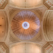 BRUSSELS, BELGIUM - JUNE 16, 2014:  The cupola of church Eglise de St Jean et St Etienne aux Minimes. — Stockfoto #48971465