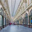 Постер, плакат: BRUSSELS BELGIUM JUNE 16 2014: Royal Galeries of st Hubert The galleries was opened in year 1846