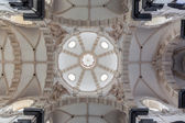 BRUSSELS, BELGIUM - JUNE 15, 2014: The cupola of church Notre Dame aux Riches Claires. — Stock Photo