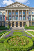 BRUSSELS, BELGIUM - JUNE 15, 2014: The National Parliament Building. — Stock Photo