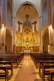 MADRID - MARCH 9: Nave of church Santa cruz on March 9, 2013 in Spain. — Stock Photo