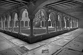 Venice - atrium of church San Francesco della Vigna — Stock Photo