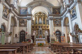 VENICE, ITALY - MARCH 12, 2014: Church chiesa di Santa Maria del Giglio. — Foto Stock