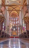 VENICE, ITALY - MARCH 12, 2014: Interior of Basilica di san Giovanni e Paolo church. — Stockfoto