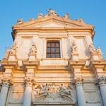 VENICE, ITALY - MARCH 13, 2014: Church Chiesa dei Gesuiti (Santa Maria Assunta) in sunset light. — Stock Photo #49400735