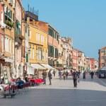 Постер, плакат: VENICE ITALY MARCH 14 2014: Street Rio tera Giuseppe Garibaldi