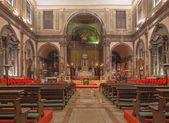 Veneza, itália - 13 de março de 2014: igreja chiesa dei santi apostoli de xii — Foto Stock