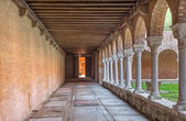 Venice - atrium of church San Francesco della Vigna — Stock Photo
