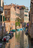 VENICE, ITALY - MARCH 14, 2014: Look from Ponte de San Francesco bride — Stock Photo