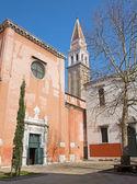 Venice - South portal of church San Francesco della Vigna — Stock Photo
