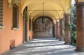 Bologna - Atrium of Colegio de Espana — Stock Photo