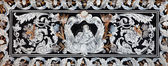 BOLOGNA, ITALY - MARCH 16, 2014:  Part of side altar of church San Martino. St. Anne as the cenetral motive. — Stock Photo