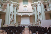 "BOLOGNA, ITALY - MARCH 17, 2014: Aula of ""Accademia di Belle Arti"" in Bologna — Stockfoto"