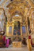 BOLOGNA, ITALY - MARCH 17, 2014: Presbytery of baroque church San Michele in Bosco. — Stockfoto