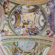 Постер, плакат: SAINT ANTON SLOVAKIA FEBRUARY 26 2014: Ceiling of chapel in Saint Anton palace with the frescoes by Anton Schmidt from years 1750 1752