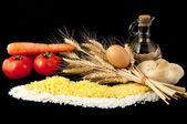 Pasta a basso contenuto proteico-pasta low protein — Stock Photo