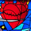 Royalty-Free Stock Photo: Stain Glass Heart