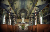 St Benedicts Painted Church — Stock Photo