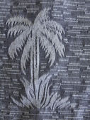 Palm Tree Print — Stock Photo