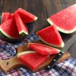 Watermelon slices — Stock Photo #12457954