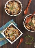 Eggplant gratin — Stock Photo
