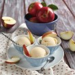 Stock Photo: Apple sorbet