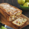 Homemade apple cake with cinnamon — Stock Photo