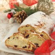 Stock Photo: Christmas Stollen