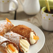 Sicilian cannoli - Stock Photo