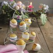 Easter muffins in eggs shell — Stock Photo