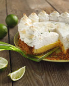 Key lime pie — Stockfoto