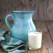 Jug and glass of milk — Stock Photo #24108007