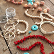 Bead making accessories — Stock Photo #24126991