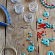 Bead making accessories — Stock Photo #24220587