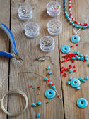 Bead making accessories — Stock Photo