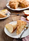 Apple coffeecake — Stock Photo
