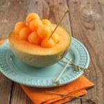 Cantaloupe melon — Stock Photo #25711239