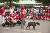 AURORA, ONTARIO, CANADA- JULY 1: Canada Day Parad — Stock Photo