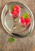 Watermelon cocktail — Stock Photo