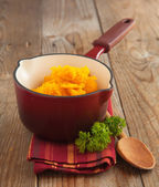 Pumpkin puree — Foto Stock