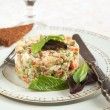 Russian traditional salad Olivier — Stock Photo #31130785