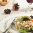 Russian traditional salad Olivier — Stock Photo #31131013