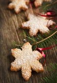 Biscuits de noël. mise au point sélective — Photo